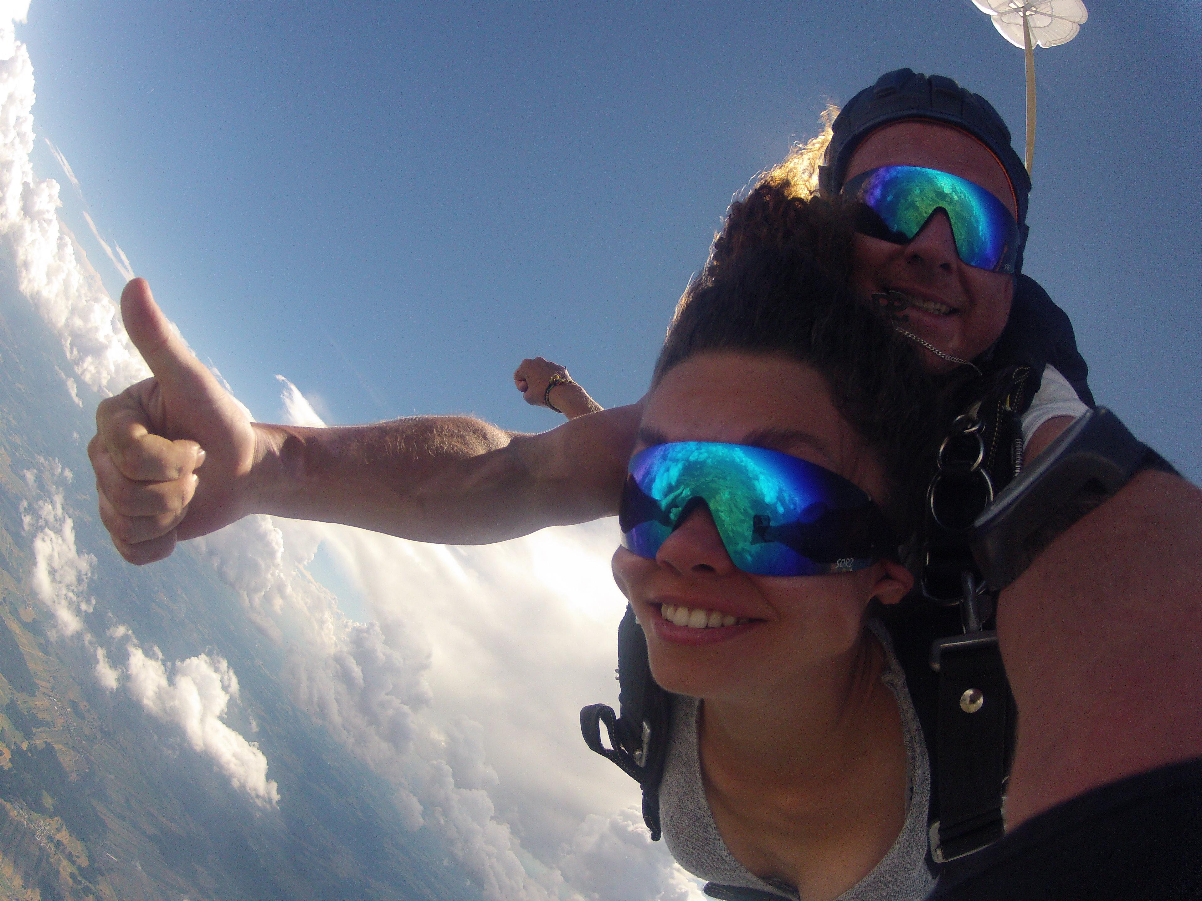 Fallschirmspringen Deutschland Tandemsprung
