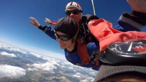 Fallschirmspringen Kandel Rheinland Pfalz Tandemsprung