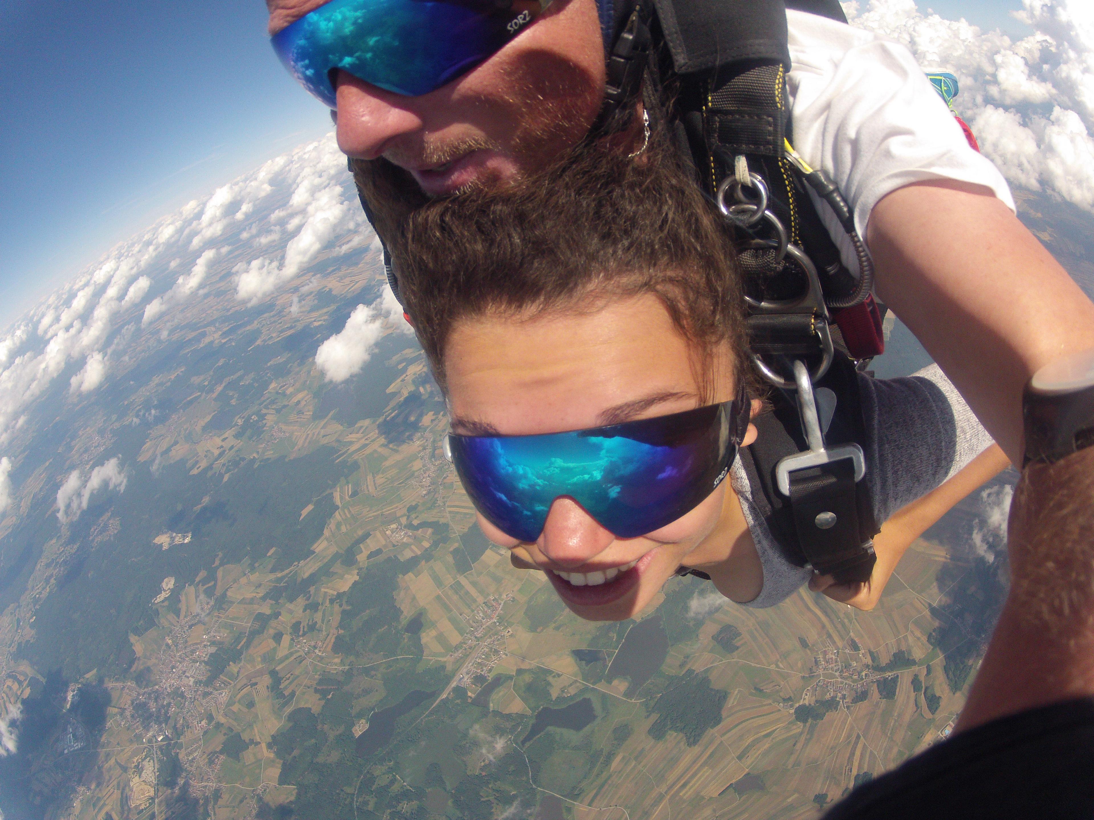 Fallschirmspringen Nordrhein Westfalen Tandemsprung