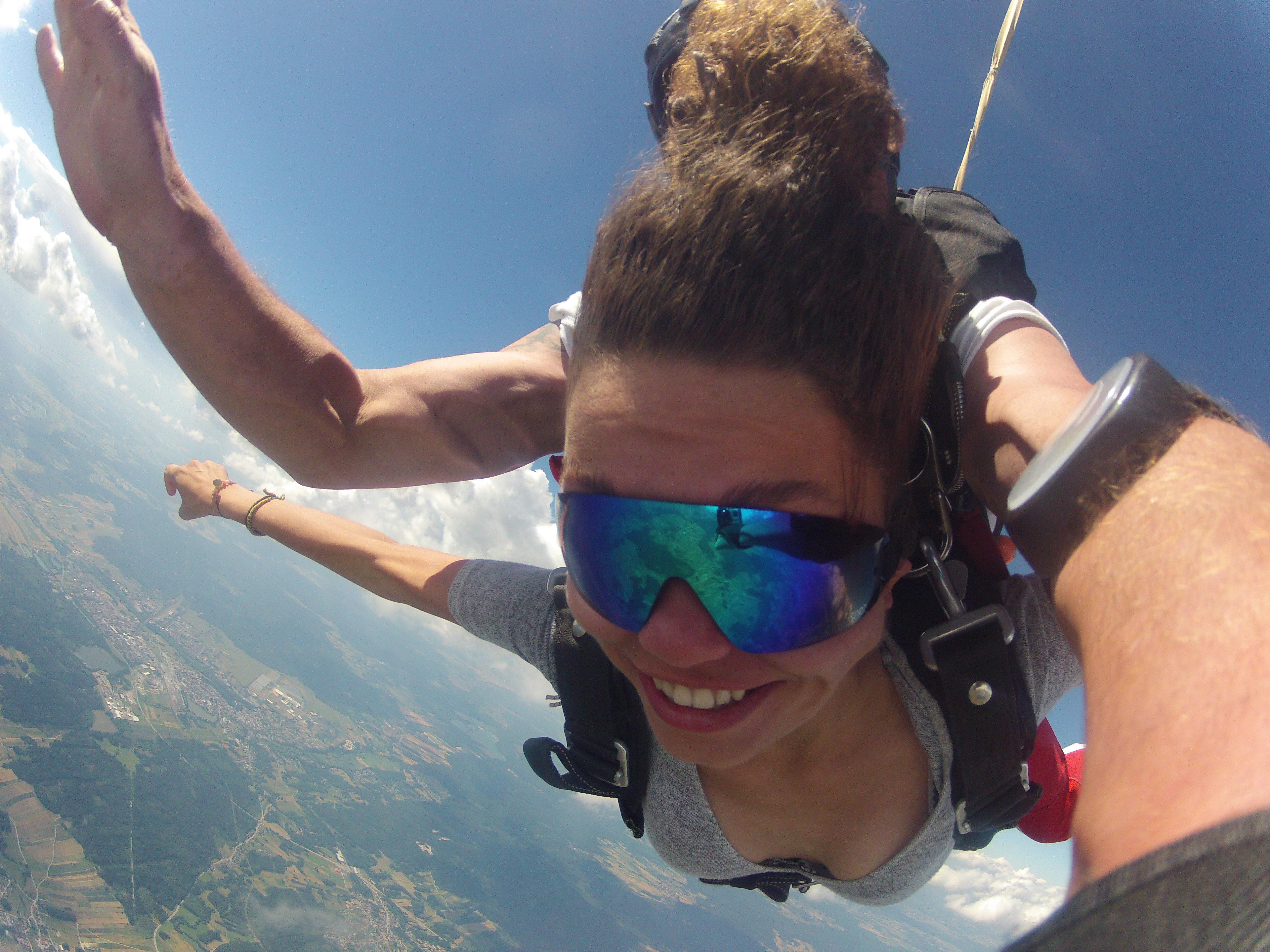 Fallschirmspringen Saarland Tandemsprung