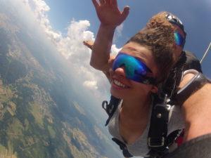 Fallschirmspringen Wallerfangen Saarland Tandemsprung