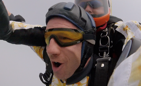 Rothenburg ob der Tauber Fallschirm Tandemsprung 4300 Meter Höhe